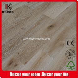 Fio Natural de Carvalho europeu seleções de estilo escovado preços de pavimento em madeira