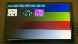 """Пользовательский PI малины 7 дюйма ЖК-дисплеем TFT с диагональю 7"""" случай с интерфейсом LVDS и 500 кд/м2"""