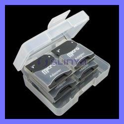 Karten-Adapter-Plastikkasten-Kasten Soem-Mikro-Sd TF (TF-118)
