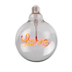 LED de alta calidad carta de la bombilla de cristal