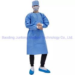 新型高標準ディスポーザブル SMS アイソレーション Coverall Gown En13795 外科用ガウンの通気性に優れた AAMI レベル 3 CE FDA 認可 for 高標準クライアント製造