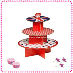 3-Ply gâteau jetables Stand CS3-11
