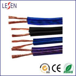 Oxygen-Free銅またはCCAのコンダクターが付いているハイファイスピーカーケーブルは、さまざまなカラー使用できる