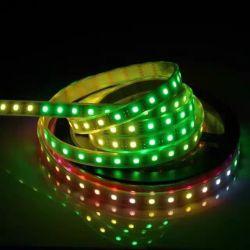 방수 기능의 유연한 5050SMD 픽셀 RGB 리본 Ws2812b LED 네온 조명