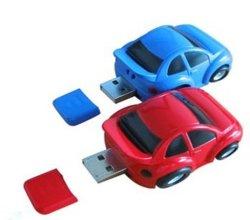 بلاستيك سيارة صغيرة الحجم USB فلاش محرك الأقراص ذاكرة مخصصة USB Memory Disk USB Stick.