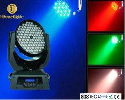Hot Sale de l'éclairage LED feux de déplacement 108pcs DJ Club del Disco laver la tête mobile