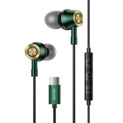 Excellente qualité sonore de tendances Usams casque filaire de type écouteurs intra-auriculaires C