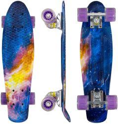초심자 Longboard 스케이트 널을 22 인치 소형 함 스케이트보드 완료하십시오
