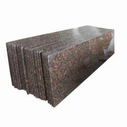Klassische natürliche Granitcountertops-grosse Platten passten Entwurfs-Fabrik-Preis an