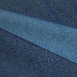 Basic 100% algodão Cor Indigo Denim para calças compridas
