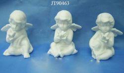 Weiße Farben-keramische Engel