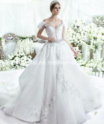 어깨 너머 웨딩 드레스 패션 벤스티도스 럭셔리 브리들 볼 가운 LD11539
