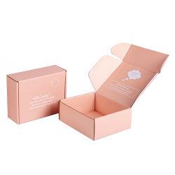 Kundenspezifisches Form Cmyk Pappe-gewölbtes Werbungs-Kasten-Wellpappverschiffen, das Postkasten verpackt