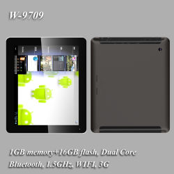 """9.7 """" Android Tablet PC 4.1 Bluetooth WiFi+3G+Dual Core"""