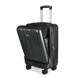 프론트 포켓 20'' 하드 트롤리 여행 가방 ABS PC 컴퓨터 노트북 수하물 여행용 가방