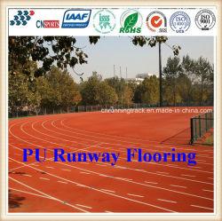 Eco-vriendelijke synthetische PU-hardlooproute met IAAF-certificaat
