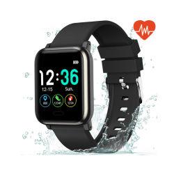 血圧および心拍数の防水ステップ・カウンタのステンレス製のスマートな腕時計とのSmartwatch