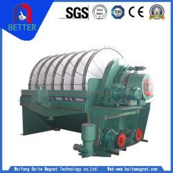 La PGT Disc Filtre à vide pour le métal/lisier solide non métalliques/carbone séparation/l'assèchement
