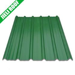 熱絶縁体4つの層PVC波形のプラスチック屋根