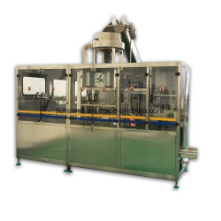 Macchina automatica di riempimento per impianti di produzione acqua con barattoli da 5 galloni