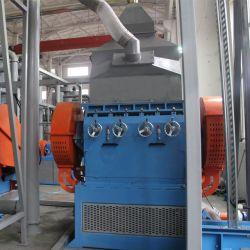 Рециркуляция воздуха в шинах резиновый порошок бумагоделательной машины/кофемолка механизма
