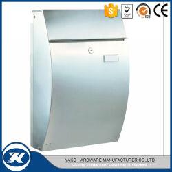 Современный корпус из нержавеющей стали является водонепроницаемым почтового ящика из литого алюминия