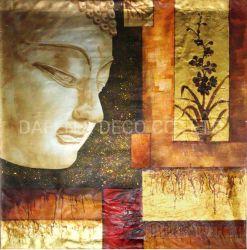 Peinture d'huile de Bouddha (36)