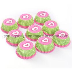La decoración de papel resistente a la Grasa Cupcakes