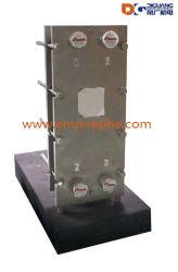 Titânio, AISI SS316L, AISI SS304 Phe, Placa de trocador de calor, a junta do permutador térmico da placa