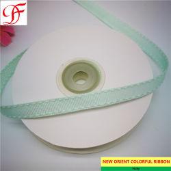 China grande fábrica de costura dupla fita Grosgrain Nylon/Chamuscar Face Fita de cetim Organza pura do cânhamo Taffeta Gingham Fita para o acondicionamento/Dom/Arcos/embalagem