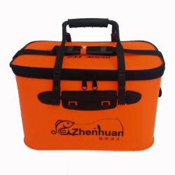 EVA pliable portable sac de godet de la pêche