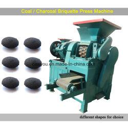 الصين نوع فحم فحم نباتيّ مسحوق [فوور-رولّر] [بريقوتّ] كرة صحافة آلة
