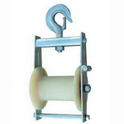 Câble d'antiquités du concepteur de gros bloc de levage de la poulie de guidage