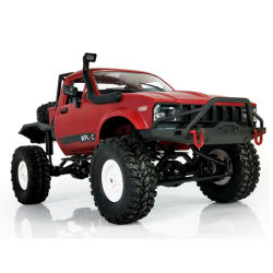 1685LC14 Gaz Rusia Tarjeta militar de doble tracción de juguete modificados off-road modelo de coche Control Remoto de escalada