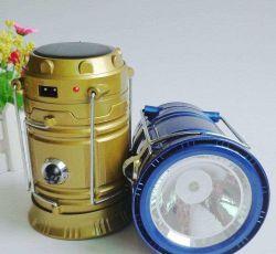 Im Freienbeleuchtung-wasserdichte Multifunktionssolartaschenlampe