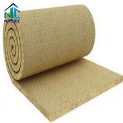 70-100kg/m3 de cristal de la densidad de lana de roca Board / Manta de lana de roca con malla de alambre Heat-Resistant precio de fábrica de materiales de lana de roca