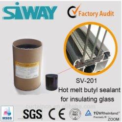 Pour verre isolant produit d'étanchéité de butyle prix d'usine Hot Melt