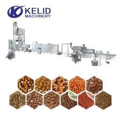 Linea di produzione automatica completa di Extueder dell'alimentazione dei pesci di alimento del cane dell'animale domestico
