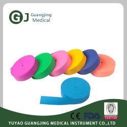 Elásticas medicinais torniquete descartáveis com a FDA, marcação