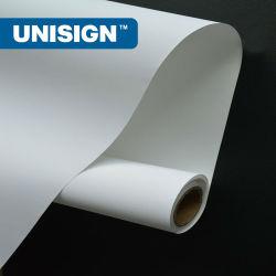 Frontlit Unisign PVC Flex BANNER Banner Dos noir pour la publicité
