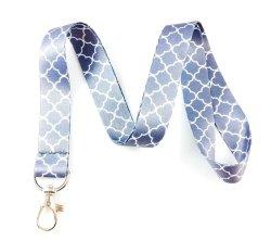 Настраиваемый логотип шелковый шнурок трафаретной печати, поощрение подарки