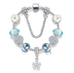 Nouvelle vente promotionnelle Bracelet perles de verre