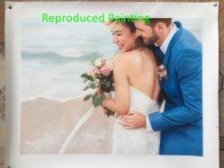 특별한 결혼 선물 아이디어 Handmade 결혼 사진 유화
