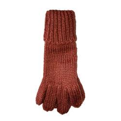 Dame de l'hiver chaud comme gant tricoté en mohair acrylique