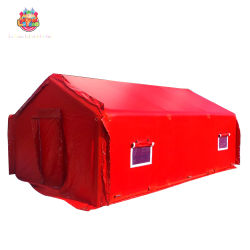 Прочного ПВХ ткани с покрытием надувные реагирования на чрезвычайные ситуации палатка цена
