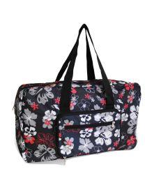 Distributeur de femmes Sport de plein air transporter week-end de voyage sac fourre-tout en polyester