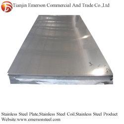Fogli in acciaio inox 304 di alta qualità a specchio lucido A4 Piastre per laminazione PVC Card Press