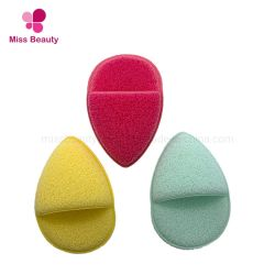 Beauty Facial Sponge Waterdropさんの形の剥離のスポンジの表面清潔になるスポンジ