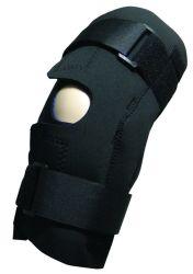 物理療法装置の経済はニーブレースの蝶番を付けられた医学のニーブレースの慰めの覆いの膝サポートに蝶番を付けた