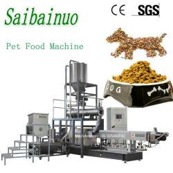 Riga trattata di produzione alimentare animale del cane della macchina dell'alimento per animali domestici
